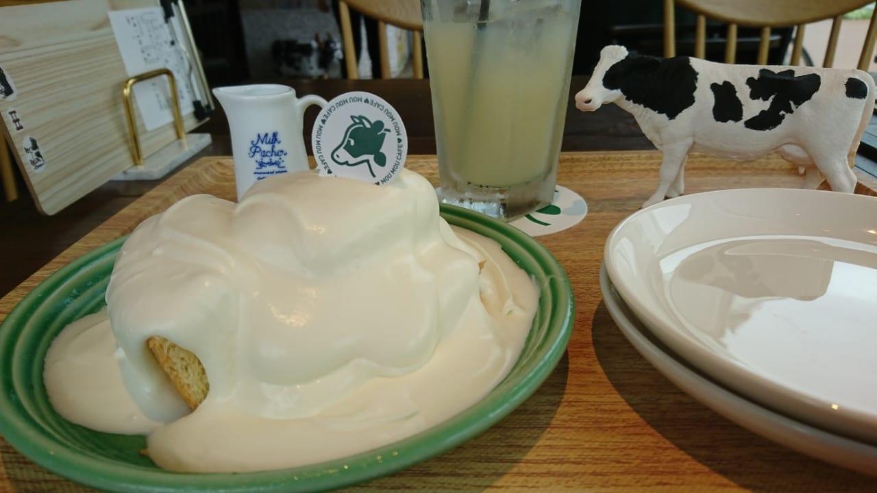 【豊橋市】フォトジェニックなお店MouMouCafeが6/18(火)OPENしました!濃厚生クリームを召し上がれ!!